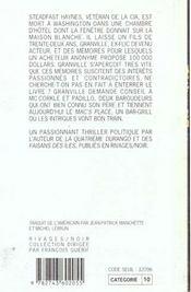 Crepuscule Chez Mac - 4ème de couverture - Format classique
