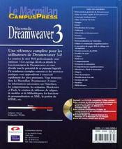 Le Macmillan Dreamweaver 3 - 4ème de couverture - Format classique