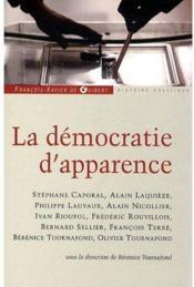 La démocratie d'apparence - Couverture - Format classique
