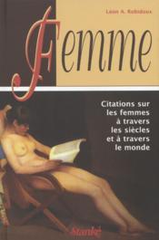Femme - Couverture - Format classique