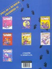 Le gowap t.7 ; gowap a gogo - 4ème de couverture - Format classique