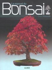 Le Manuel Du Bonsai - Intérieur - Format classique