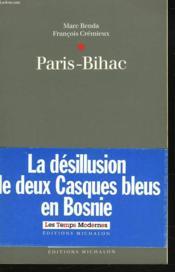 Paris-Bihac - Couverture - Format classique