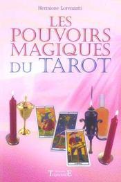 Pouvoirs Magiques Du Tarot - Intérieur - Format classique
