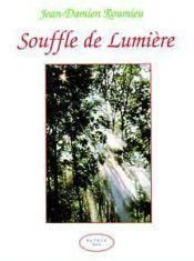 Souffle De Lumiere - Couverture - Format classique