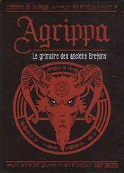 Agrippa, Le Grimoire Des Anciens Bretons - Couverture - Format classique