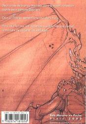Bob Morane t.2017 ; les esprit du vent et de la peste - 4ème de couverture - Format classique