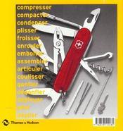 Plier Deplier Livre D Objet Repliable - 4ème de couverture - Format classique