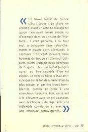 Genre De Choses Qui Arrivent En France - 4ème de couverture - Format classique