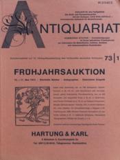 Antiquariat N°15 du 17/05/1973 - Couverture - Format classique