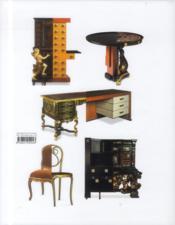 Esprit du meuble et du design ; l'évolution esthétique de l'Antiquité à nos jours - 4ème de couverture - Format classique