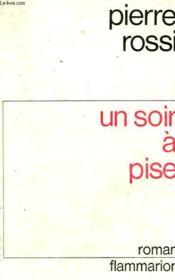 Un Soir A Pise. - Couverture - Format classique