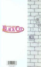 Black cat t.2 ; creed - 4ème de couverture - Format classique