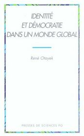 Identité et démocratie dans un monde global - Intérieur - Format classique
