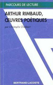 Oeuvres poétiques, d'Arthur Rimbaud - Intérieur - Format classique