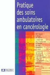 Pratique Soins Ambu En Cancerologie - Intérieur - Format classique