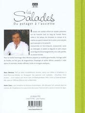 Salades (les) - 4ème de couverture - Format classique