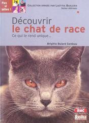 Decouvrir Le Chat De Race - Intérieur - Format classique
