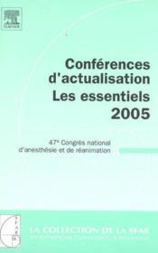 Conferences D'Actualisation 2005 - Les Essentiels 2005 - Couverture - Format classique