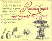 Robinson Crusoe. Mes Carnets De Croquis - Intérieur - Format classique
