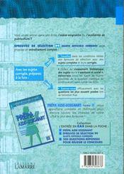 Exos sujet et corriges 96/97 tome 2 - 4ème de couverture - Format classique