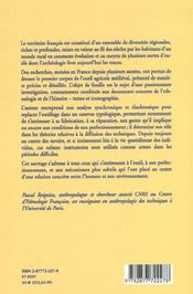 L'Outil Agricole En France Au Moyen Age - 4ème de couverture - Format classique
