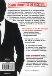L'homme idéal ; 50 leçons pour séduire la femme - 4ème de couverture - Format classique