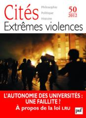 Revue Cites T.50 ; Violences Civiles - Couverture - Format classique