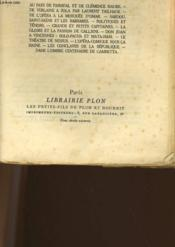 Cinquante Ans De Paris - Memoire D'Un Temoin 1889-1938 - Tome 1 - Couverture - Format classique