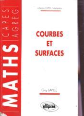 Courbes Et Surfaces - Couverture - Format classique