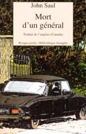 Mort d'un général - Couverture - Format classique