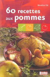 60 recettes aux pommes - Intérieur - Format classique