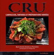 Cru ; carpaccio, tartares et préparations variées - Intérieur - Format classique