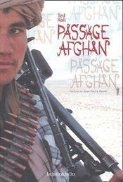 Passage afghan - Couverture - Format classique