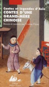Contes d'une grand-mère chinoise - Couverture - Format classique