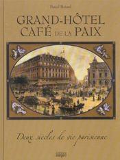 Grand Hotel Cafe De La Paix (Cartonne) - Intérieur - Format classique