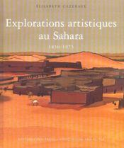Explorations Artistiques Au Sahara - 1850-1975 - Intérieur - Format classique