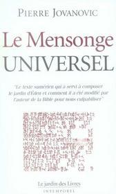 Le mensonge universel - Intérieur - Format classique