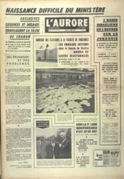 Aurore (L') N°7713 du 19/06/1969 - Couverture - Format classique