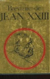 Breviaire De Jean Xxiii. - Couverture - Format classique