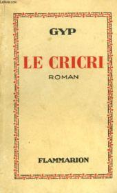 Le Cricri. - Couverture - Format classique