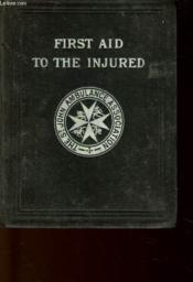 First Aid To The Injured - Couverture - Format classique
