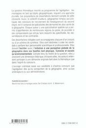Les Montagnes Objets Geographiques En Dissertations Corrigees Capes/Agregation - 4ème de couverture - Format classique