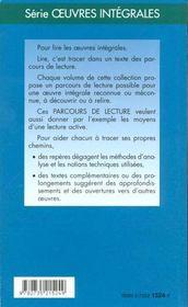 L'Accent Grave, L'Accent Aigu - Parcours De Lecture - 4ème de couverture - Format classique