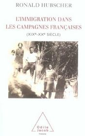 L'immigration dans les campagnes francaises - Intérieur - Format classique