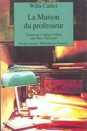 La maison du professeur - Intérieur - Format classique