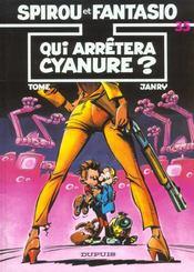 Spirou et Fantasio t.35 ; qui arrêtera Cyanure ? - Intérieur - Format classique