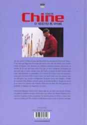 Scenes De Chine Et Recettes De Cuisine - 4ème de couverture - Format classique