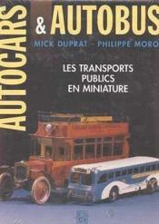 Autocars autobus - Couverture - Format classique