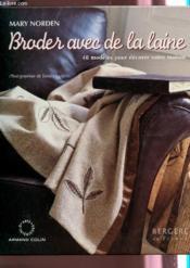 Broder Avec De La Laine - Couverture - Format classique